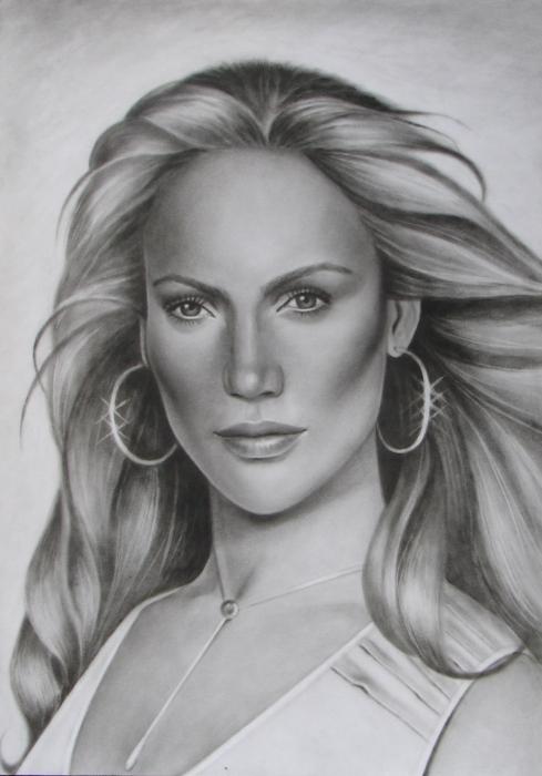 Jennifer Lopez by whitelily